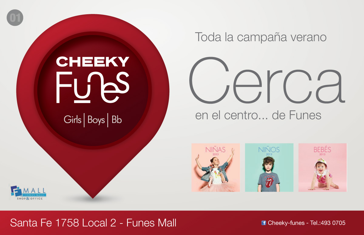 Cheeky Funes / Apertura local Funes Mall